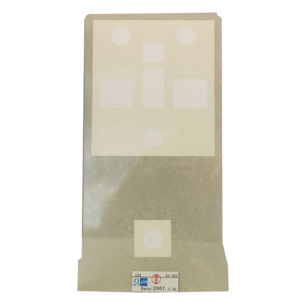 products 47200163 CALIBRATION CARD WHITE