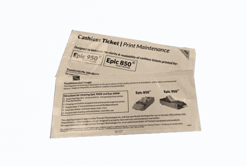 Thermal Printer Cleaning Cards