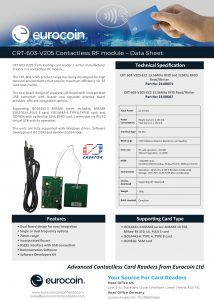 CRT 603 V205 Contactless RF module UK