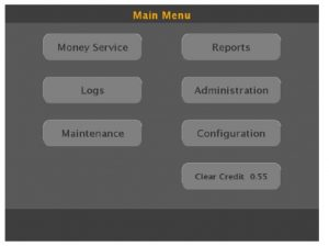 CashIO Access Operation by Employees Logging In Main Menu 3