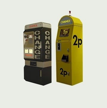 Change Machines and Kiosks