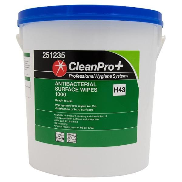CleanPro Antibacterial Wipes