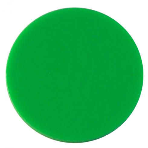 39020500 plastic token green 0