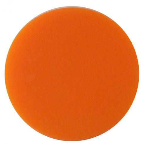 39021600 plastic token orange 0